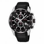 Festina Herrenuhr F20330-5 Sport Chronograph Armbanduhr Chrono Uhr Schwarz