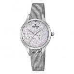Festina Damenuhr F20336-1 Silber Uhr Armbanduhr Milanaise Mademoiselle