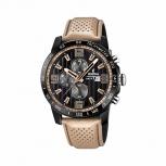 Festina Herrenuhr F20339-1 Sport Chronograph Armbanduhr Beige Chrono Uhr