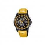 Festina Herrenuhr F20339-3 Sport Chronograph Armbanduhr Gelb Chrono Uhr