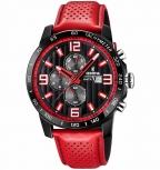 Festina Herrenuhr F20339-5 Sport Chronograph Armbanduhr Rot Chrono Uhr