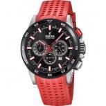 Festina Herrenuhr F20353-8 Sport Chronograph Armbanduhr Chrono Uhr Rot