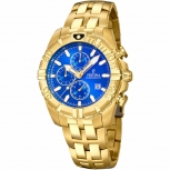Festina Herrenuhr F20356-2 Sport Chronograph Armbanduhr Gold Chrono Uhr