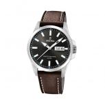 Festina Herrenuhr F20358-1 Leder Armbanduhr Uhr Datum Braun