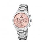 Festina Damenuhr F20391-2 Schmuckuhr Silber Uhr Armbanduhr Chrono