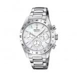 Festina Damenuhr F20397-1 Schmuckuhr Silber Uhr Armbanduhr Chrono Diamond