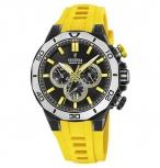 Festina Herrenuhr F20450-1 Chrono Bike Chronograph Armbanduhr Uhr Gelb