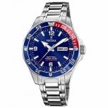 Festina Herrenuhr F20478-2 Automatik Armbanduhr Uhr Mechanisch Saphirglas