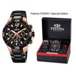 Festina Herrenuhr F20525-1 Chrono Bike 2020 Chronograph Armbanduhr Special Edition