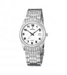 Festina Herrenuhr F8825-4 Klassik Armbanduhr 34 Durchmesser Uhr Silber