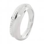 Fossil Damenring JFS00014 Silber Ring
