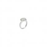 Fossil Damenring JFS000820 Silber Damen Ring Gr. 17 Neuheit