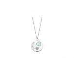 Lotus Damen Kette LP1824-1-1 Halskette Schmuckkette Mama Herz echt Silber