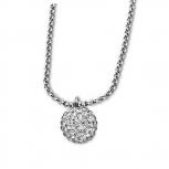 Lotus Damen Kette LS1405 Style Collier Kugel Silber Neuheit