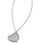 Lotus Damen Kette LS1668 Style Collier Herz Silber Halskette Schmuckkette