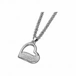 Lotus Damen Kette LS1784-1-1 Style Collier Herz Silber Schmuckkette Halskette