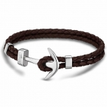 Lotus Damen Armband LS1832-2-5 Herren Lederarmband Anker Unisex Leder