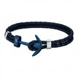 Lotus Damen Armband LS1832-2-A Herren Lederarmband Anker Unisex Leder
