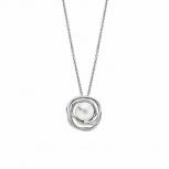 Lotus Damen Kette LS1855-1-1 Style Collier Perle Silber Schmuckkette Halskette