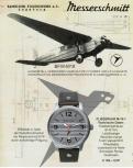 Messerschmitt Herrenuhr M-18-1 Uhr Armbanduhr Fliegeruhr M18 Verkehrsflugzeug