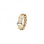 M&M Damenuhr M11851-232 Chainy Gold Damen Uhr Neuheit