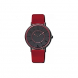 M&M Damenuhr M11870-887 Rot Damen Uhr COLOR BLOCKING