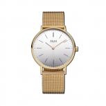 M&M Damenuhr M11892-232 BASIC STAR Gold Damen Uhr