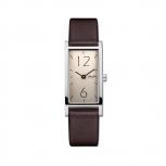 M&M Damenuhr M11918-543 Best Basic Banana Leder Silber Uhr Neuheit