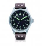 Messerschmitt Herrenuhr ME-47XLB Uhr Armbanduhr Fliegeruhr Beobachter XL