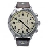 Messerschmitt Herrenuhr ME-5030-BEIGE Uhr Armbanduhr Fliegeruhr Chrono