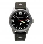 Messerschmitt Herrenuhr ME-67Ti Uhr Aristo Armbanduhr Fliegeruhr Flugzeug Titan