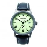 Messerschmitt Herrenuhr ME-Luminova Uhr Armbanduhr Fliegeruhr Leuchtzifferblatt