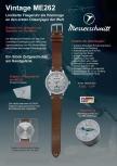 Messerschmitt Herrenuhr ME262 Uhr Armbanduhr Limitierte Fliegeruhr Nr.259