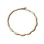 M&M Damen Kette MN3202-445 Halskette Waves Gold