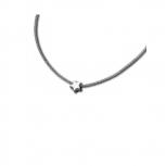 M&M Damen Kette MN3216-148 Halskette Silber Stern
