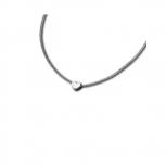 M&M Damen Kette MN3218-148 Halskette Silber Herz