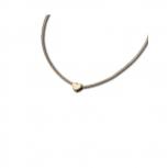 M&M Damen Kette MN3218-448 Halskette Gold Herz