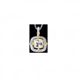 Bersani Anhänger MP3042C Silber Gold Damenanhänger Edel Neuheit