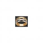 M&M Damenring MR2111-354 Best of Bicolor Ring Gr. 54