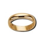 M&M Damenring MR3021-356 Ring Pure Basic Gr. 56 Gold