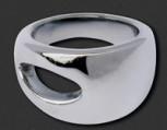 M&M Damenring MR3064-154 Ring Pure Basic Gr. 54