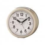 Seiko Wecker QHE125G Licht no tic Uhr Gold Alarm LumiBrite