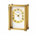 Seiko Tischuhr Wecker QHE127G Gold Büro Reiseuhr Stiluhr