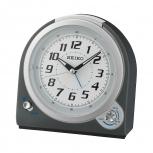 Seiko Wecker QHK029T Geräuschlos Alarm Uhr Auswählbarer Alarm (Klingel/Piep)