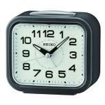 Seiko Wecker QHK050N Uhr Alarm kein Ticken Inkl. Batterie Alarmwecker