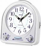 Seiko Wecker QHP003W 18 Melodien Alarm Vogel Tischuhr Uhr Lautstärkeregler