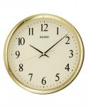 Seiko Wanduhr QXA417G- Bürouhr Küche Uhr Geräuschlos no tic