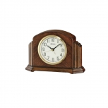 Seiko Wecker QXE043B Schreibtischuhr Tischuhr Uhr Glas Holz