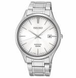 Seiko Herrenuhr SGEG93P1 Armbanduhr Klassik Edelstahl Uhr Silber