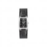 s.Oliver Damenuhr SO-1743-LQ Leder Silber Armbanduhr Neu